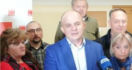 SLD przedstawia kandydatów do rady miasta i sejmiku. Z żalem do Koronkiewicza