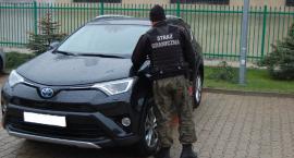 Niedaleko granicy została zatrzymana Toyota z przerobionym numerem
