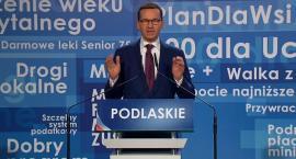 Premier Morawiecki: Nie pozwolimy, aby wróciły mafie i hulały tu jak wiatr po dzikich polach