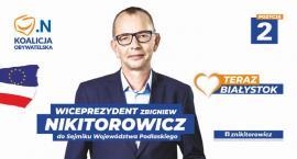 Ale wtopa! Zbigniew Nikitorowicz startuje z nieistniejącego stanowiska
