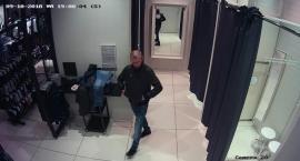 Jeśli znasz tego mężczyznę, dzwoń na Policję. Jest on sprawcą kradzieży