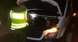 Straż Graniczna zatrzymała auto z przerobionymi numerami