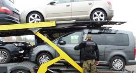 Straż Graniczna odzyskała cztery skradzione pojazdy