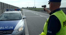 Kierujący hondą stracił prawo jazdy. Jechał o ponad 50 km/h za szybko