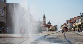 Obfite ulewy to między innymi efekt wzrostu temperatur w Białymstoku