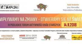 Podlaskie Forum Aktywności Osób Starszych po raz czwarty w Białymstoku