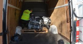 Sejneńscy pogranicznicy odzyskali skradzione części samochodowe
