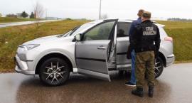 Skradziona Toyota Rav nie opuściła terytorium Polski