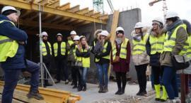 Studenci Politechniki Białostockiej poznają budowę od środka