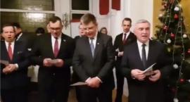 Marszałkowie śpiewali kolędy z wydaloną z Polski Lyudmylą Kozlovską