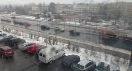 Jest śnieżnie i ślisko. Czy zima zaskoczyła znowu Białystok?