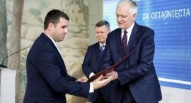 Marcin Kochanowicz z nagrodą od Ministra Nauki i Szkolnictwa