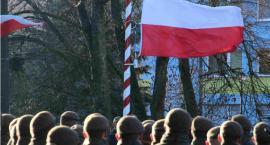 Terytorialsi przysięgali na sztandar w Hajnówce