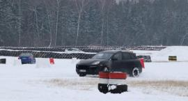 Zimowe ściganie na Torze Wschodzący Białystok