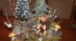 Dzieci wykonały ozdoby świąteczne w ramach konkursu