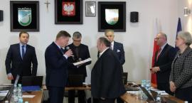 Piotr Skiepko z Honorową Odznaką Województwa Podlaskiego