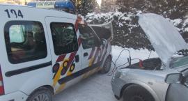 Gdyby ktoś potrzebował, Straż Miejska podjedzie i pomoże odpalić auto