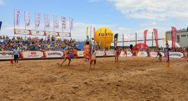 Sportowo na plaży