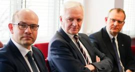 Wicepremier Gowin spotkał się z zarządem województwa podlaskiego