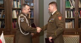 Terytorialsi odwiedzili Litwę