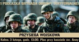Pierwsza przysięga podlaskich terytorialsów w nowym roku odbędzie się w Kolnie