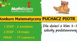 """Do konkursu matematycznego zaprasza uczniów """"Puchacz Piotr"""""""