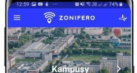 Telefon pomoże odnaleźć się na uczelni