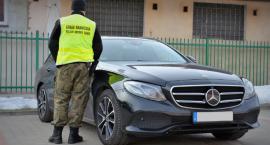 Skradziony w Niemczech mercedes zatrzymany w Augustowie