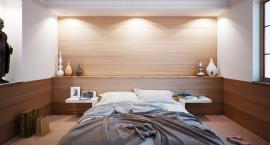Małą sypialnię można urządzić całkiem przytulnie