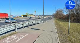 Fragment Trasy Generalskiej będzie miał drogę dla rowerów