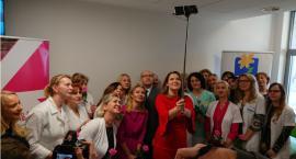 Badanie zamiast kwiatka w Białostockim Centrum Onkologii