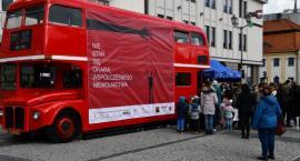 W centrum Białegostoku edukowano jak się nie stać ofiarą handlu ludźmi