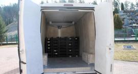 Kontrabanda papierosowa była ukryta w skrytkach samochodowych