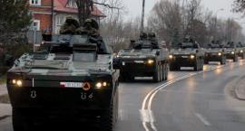 Z Lubelszczyzny kolumny wojskowe dotrą na Podlasie. Kierowcy uważajcie!