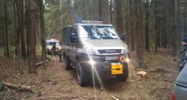 Trzy pociski moździerzowe znaleziono podczas prac w lesie