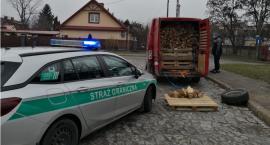 Ponad 300 kilogramów nielegalnej krajanki tytoniowej przechwyciła straż graniczna