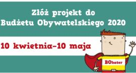 Do 10 maja można zgłaszać projekty do budżetu obywatelskiego