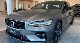 Mocne wejście nowego Volvo S60. Ten najbardziej sportowy model, produkowany w USA - już w Białymstoku