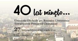 Towarzystwo Przyjaciół Choroszczy kończy 40 lat