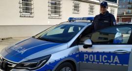 Agresywny mężczyzna zatrzymany przez policjanta, który był po służbie