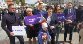 O prawach kobiet w Święto Konstytucji 3 Maja mówiła kandydatka Wiosny do PE