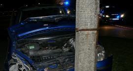 Pijany kierowca bez uprawnień spowodował wypadek
