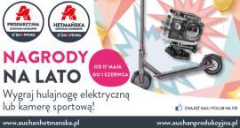 Klienci Auchan mają szansę wygrać elektryczną hulajnogę