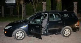 Podejrzany o kradzież samochodu zatrzymany został razem z samochodem