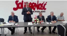 Na ostatniej prostej Krzysztof Jurgiel otrzymał wsparcie od Solidarności