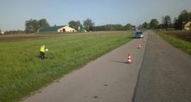 Policjanci szukają świadków wypadku niedaleko Sztabina