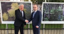 O dobrosąsiedzkiej współpracy w Mińsku i w Grodnie