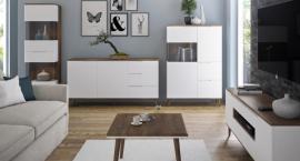 Chcesz kupić białe meble do salonu? Czy lepiej sprawdzą się matowe czy z połyskiem?