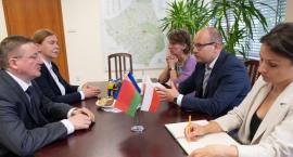 Do Marszałka Województwa z wizytą przyjechał ambasador Białorusi