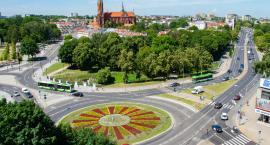 W Białymstoku pojawiły się letnie kwiaty